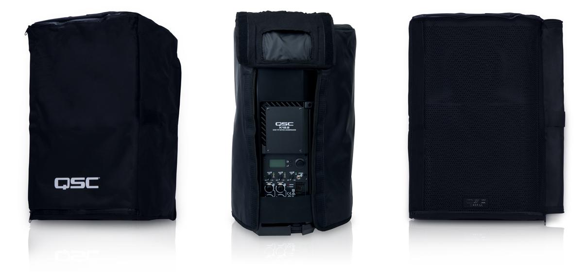 QSC K10.2 New Model Padded Speaker Slip Covers PAIR