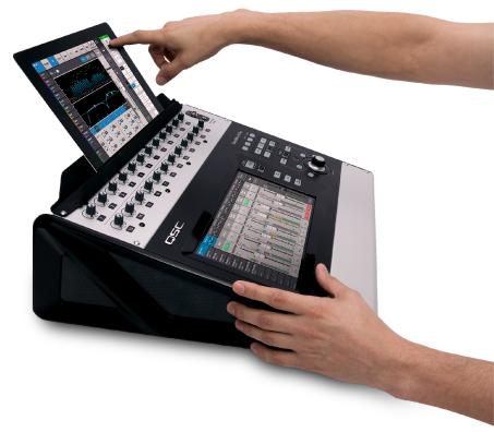 TouchMix Mixer - Produkte - Live Sound - QSC German Language