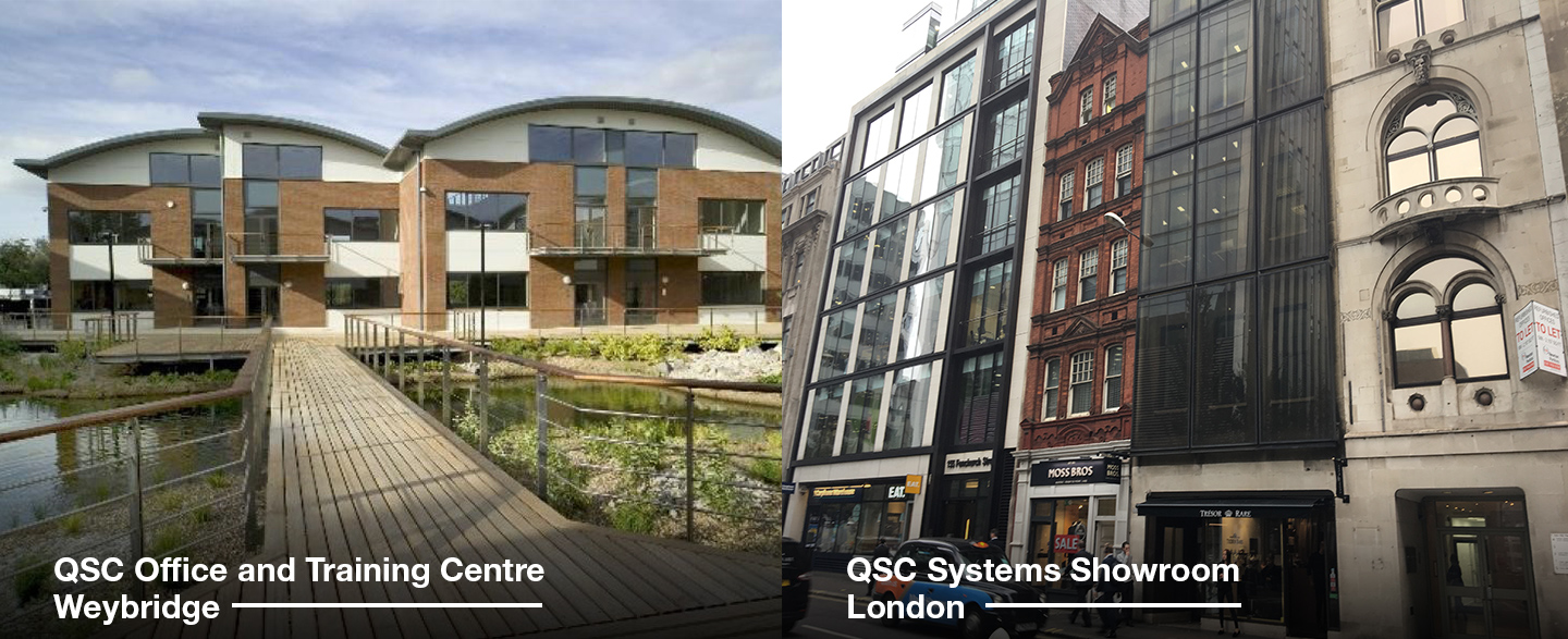 Qsc Opens New Offices And Training Centre In London News Platecover Housing Assembly Google On Cable To Cat5 Wall Plate Wiring