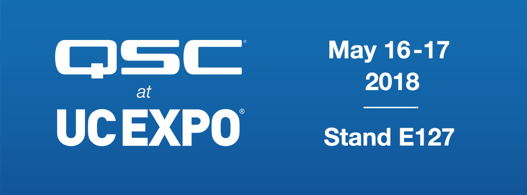 QSC to Showcase IT Centric Conference Room Solutions at UC