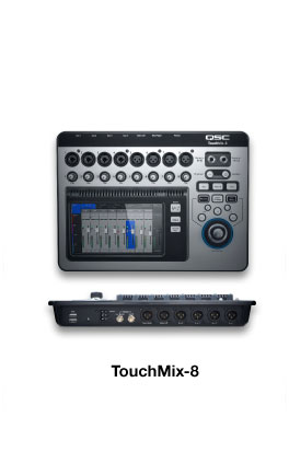The world's most powerful small-format digital mixers