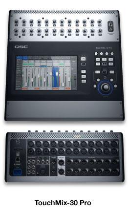 Tables De Mixage Touchmix Produits Son Live Qsc French