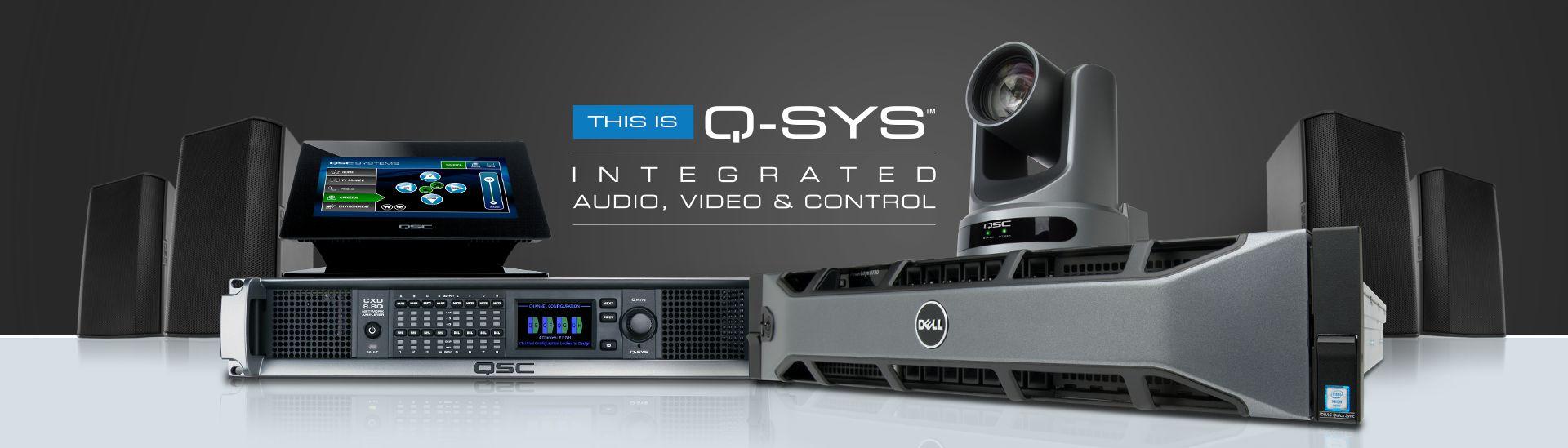QSC Q-SYS Platform | Integrated Audio, Video & Control