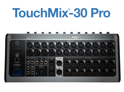 TouchMix Compact Digital Mixer