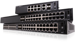 pre-configured Dell network switches