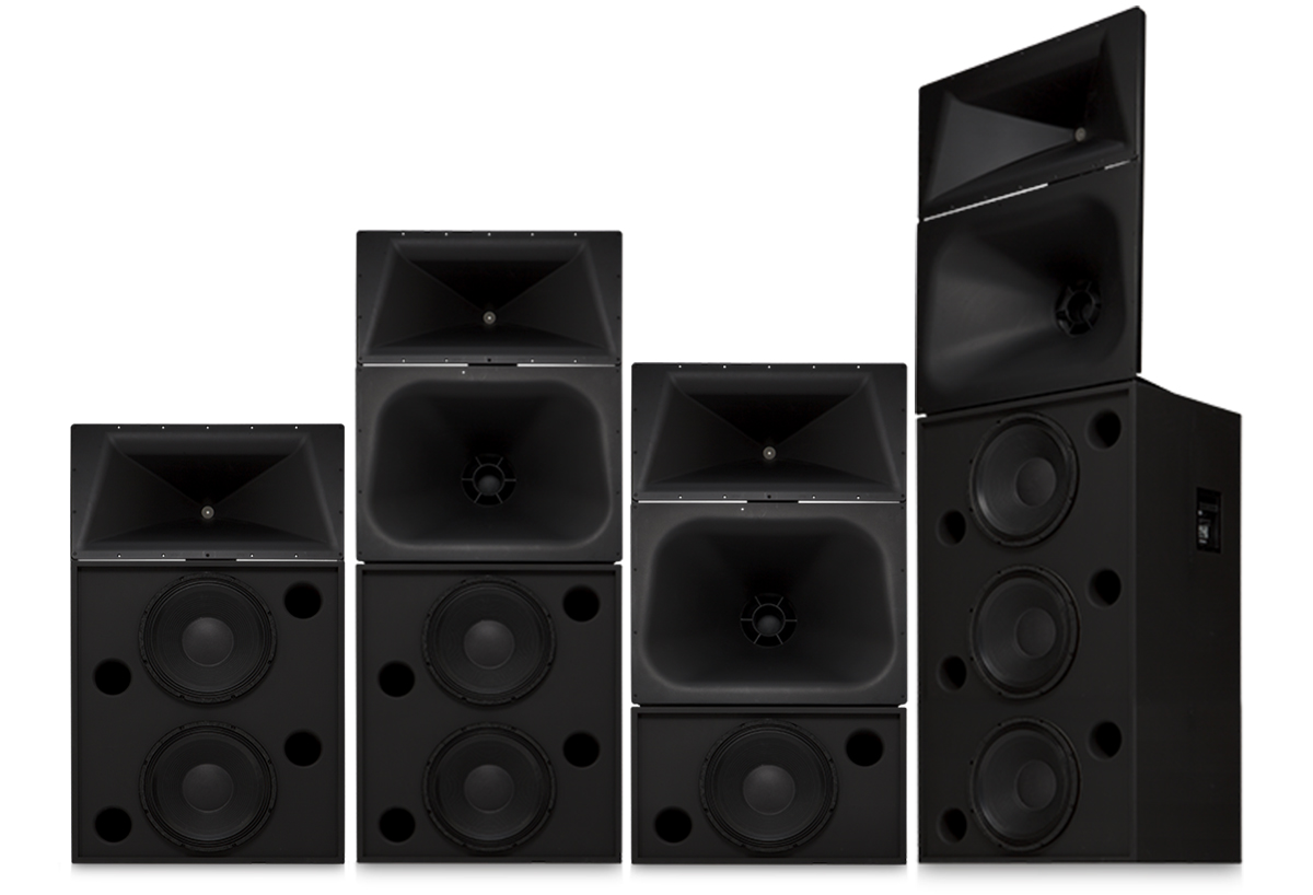 Screen Channel Loudspeakers Products Cinema Qsc Loudspeaker Protection With Soft Start