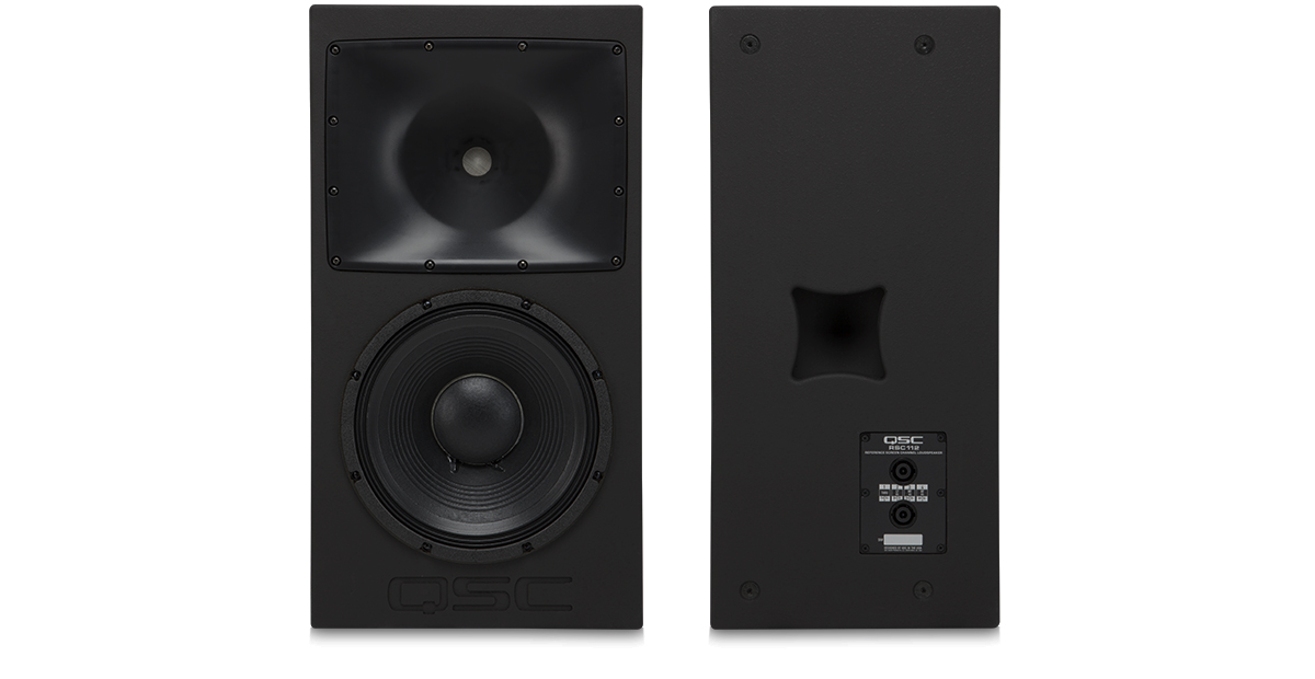 Rsc 112 reference monitor system loudspeakers products rsc 112 reference monitor system loudspeakers products cinema qsc asfbconference2016 Choice Image