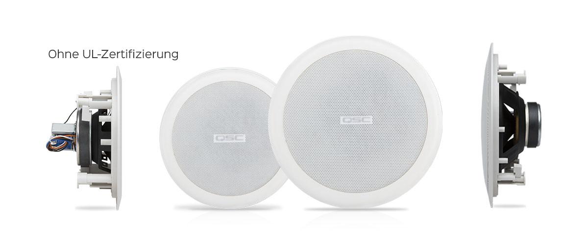 AcousticCoverage™ Serie – Deckeneinbaumontage ...