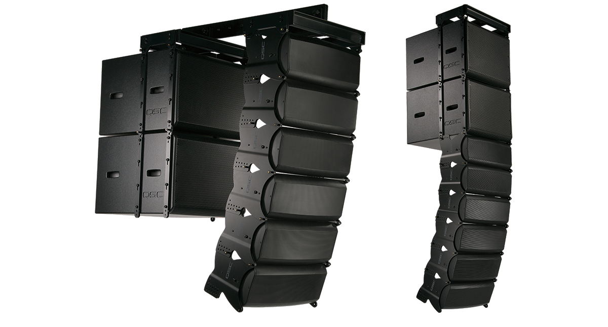 ila series installed line array loudspeakers loudspeakers products systems qsc. Black Bedroom Furniture Sets. Home Design Ideas