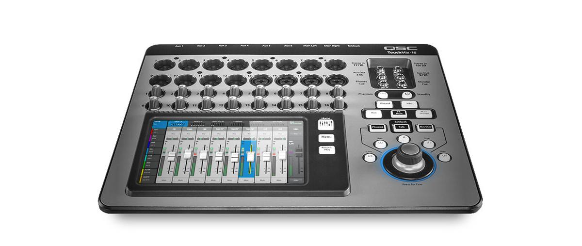 TouchMix-16 Compact Digital Mixer