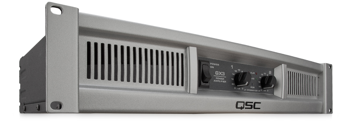 GX3 Power Amplifier – QSC