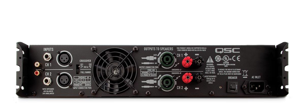 gx3 power amplifier qsc. Black Bedroom Furniture Sets. Home Design Ideas
