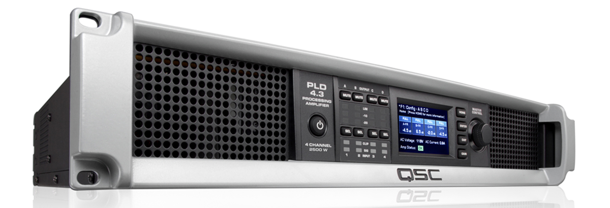 PLD4.3 Power Amplifier with DSP - QSC on