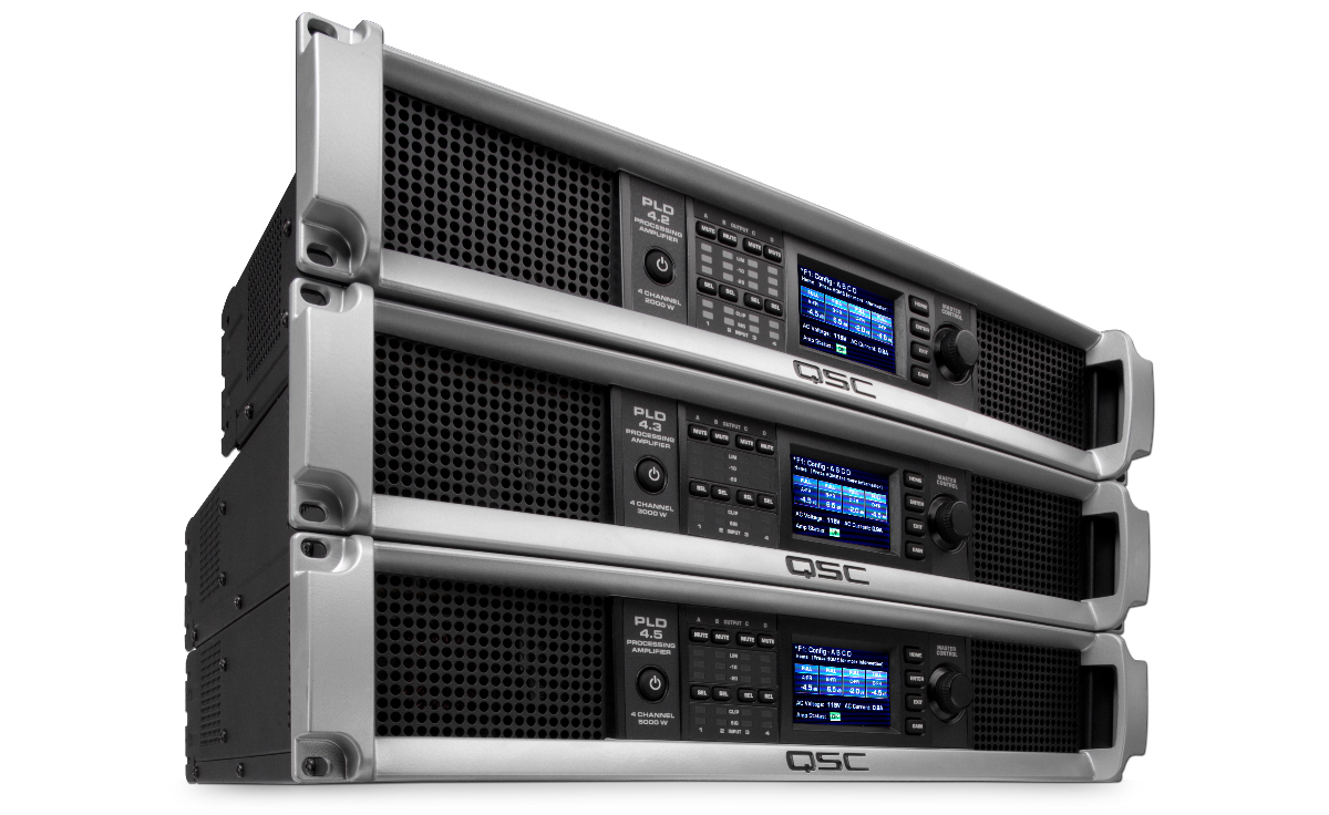 Pld Series Power Amplifiers Products Live Sound Qsc Classd Amplifier Circuit Simulator Featuring Flexible Summing Technology Fast Advanced Dsp And Loudspeaker Management Next Generation Class D Amplification With Factor