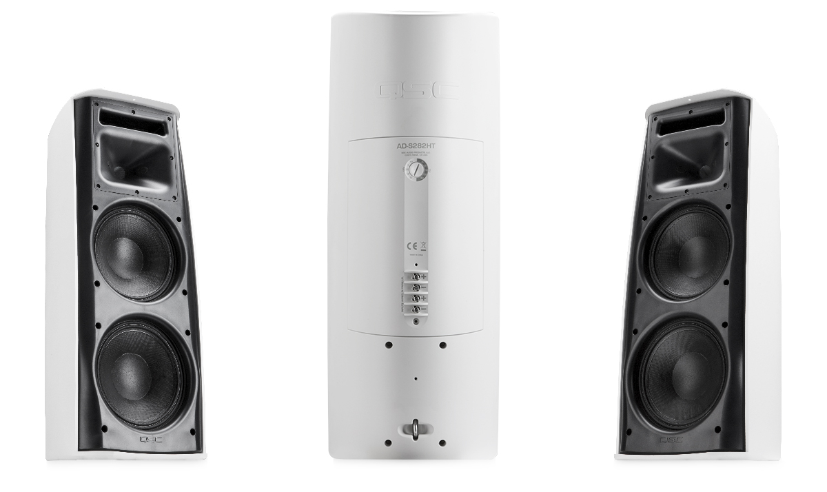 AD-S282H - AcousticDesign™ Series - Surface-Mount - Surface-mount  Loudspeakers - Loudspeakers - Systems - Products - QSC India - QSC