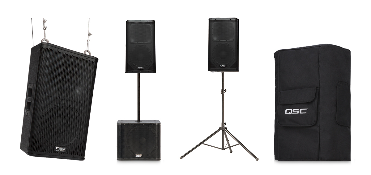 qsc k12 hookup The k12 by qsc, sets a new standard for lightweight active loudspeaker systems.