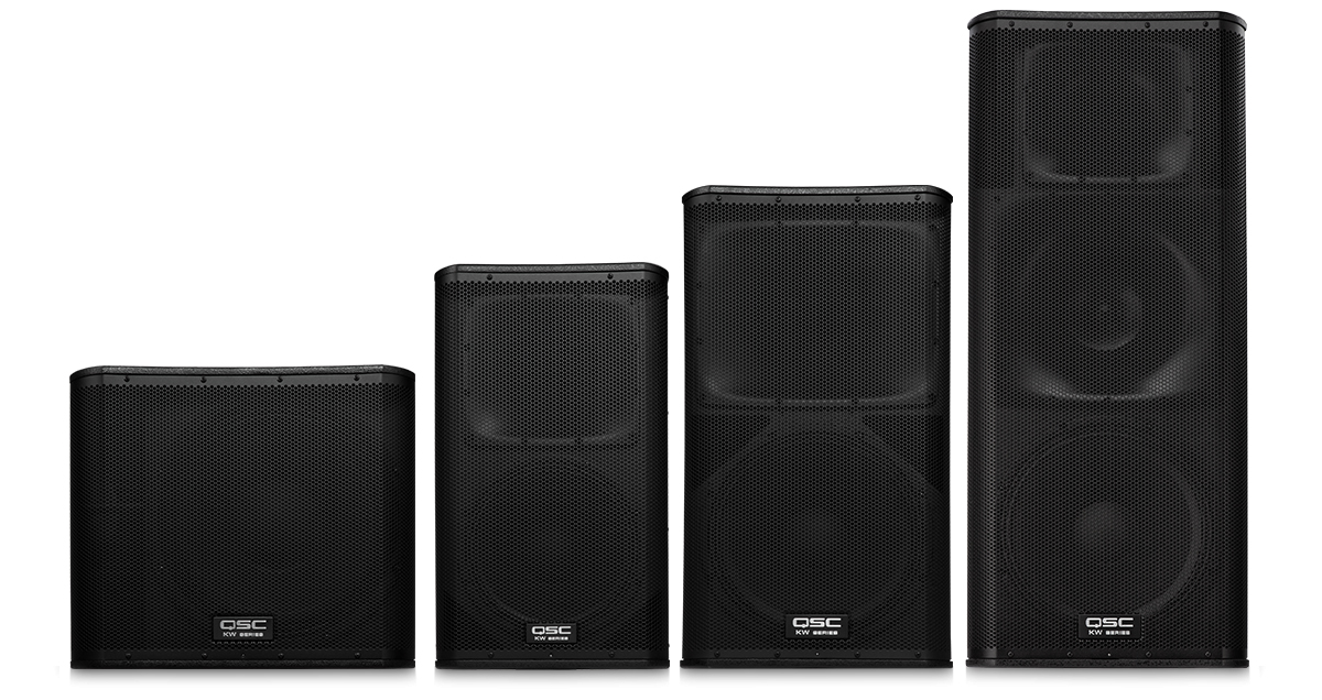 KW Series Loudspeakers