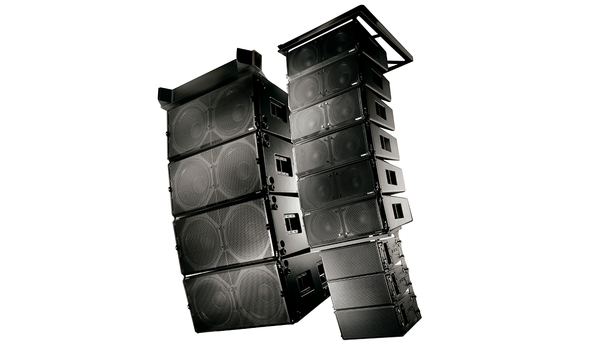 wideline 10 series passive line array loudspeakers loudspeakers products live sound qsc. Black Bedroom Furniture Sets. Home Design Ideas