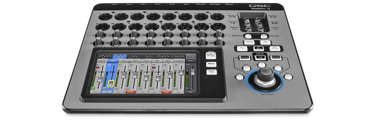 touchmix 16 compact digital mixer. Black Bedroom Furniture Sets. Home Design Ideas