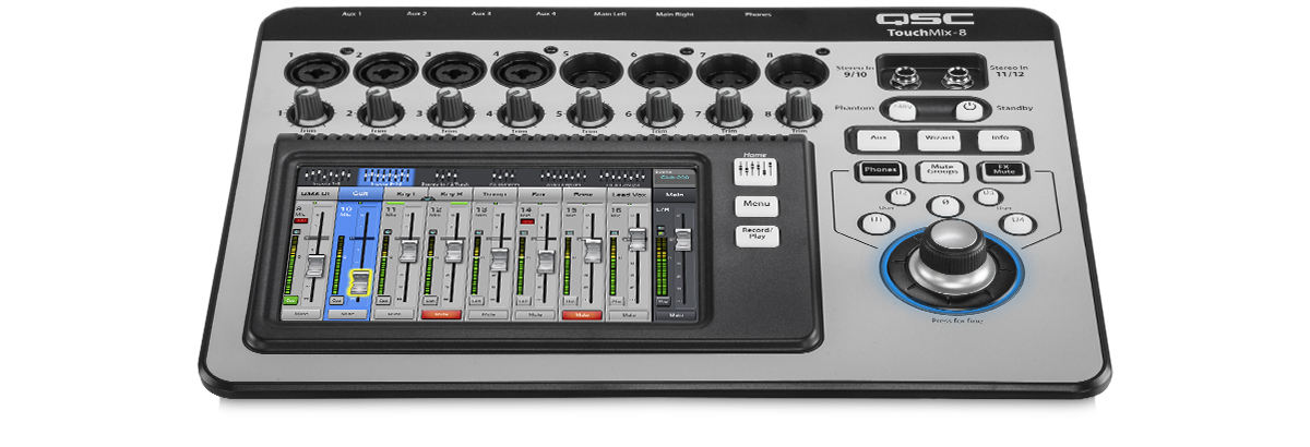 touchmix 8 compact digital mixer. Black Bedroom Furniture Sets. Home Design Ideas