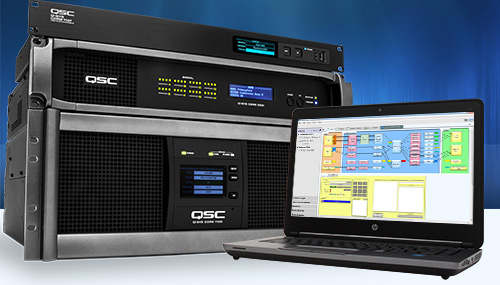 Qsc conference room solutions sonido live for Grow room software