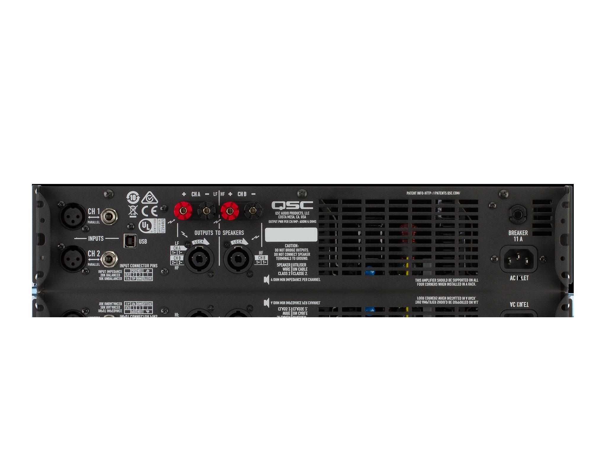 Gxd 4 Professional Power Amplifier 800 Watt Wiring Kit Gxd4