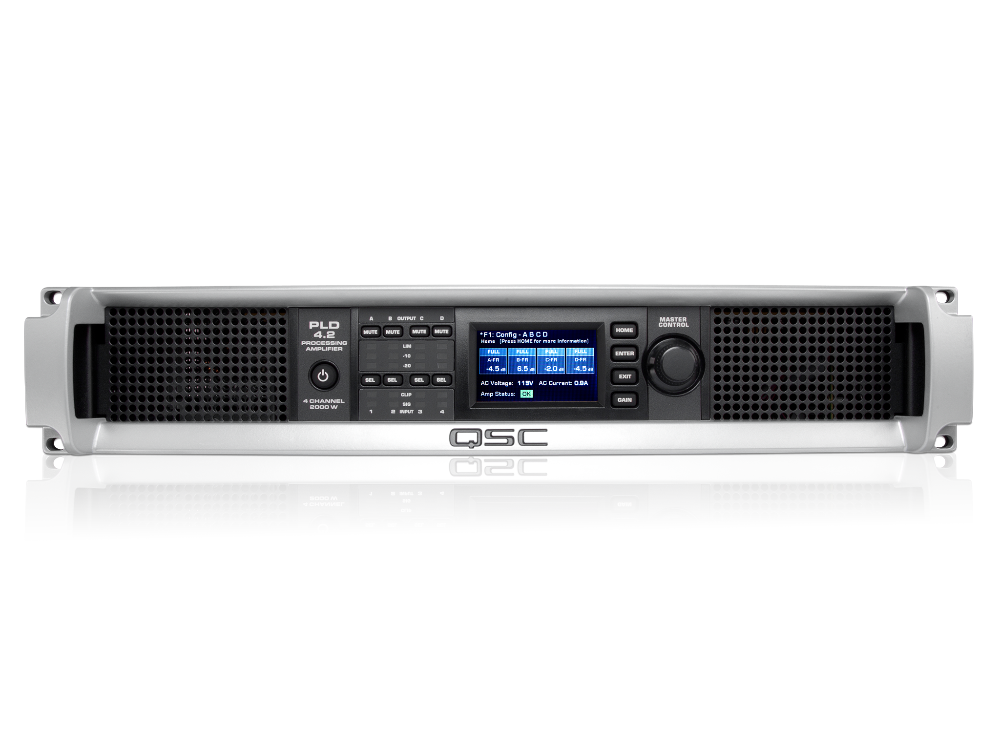 PLD4 2 Power Amplifier with DSP - QSC