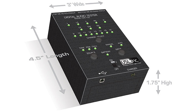 USL DAT-100 - Media Servers & Test and Measurement