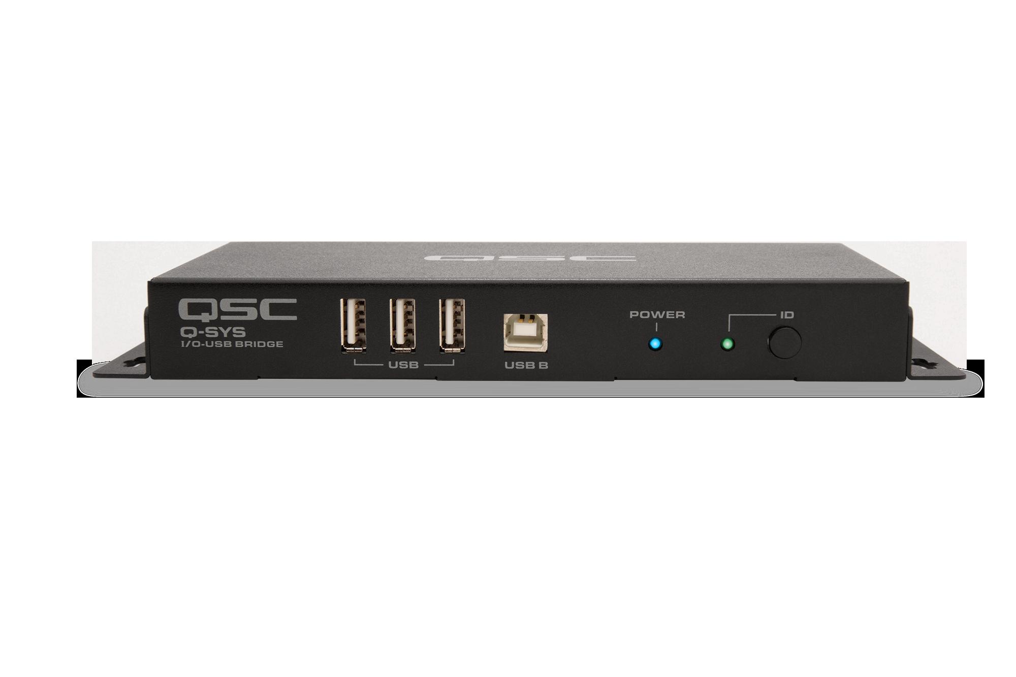 I/O-USB Bridge Peripheral | QSC Q-SYS™ AV-to-USB Bridging