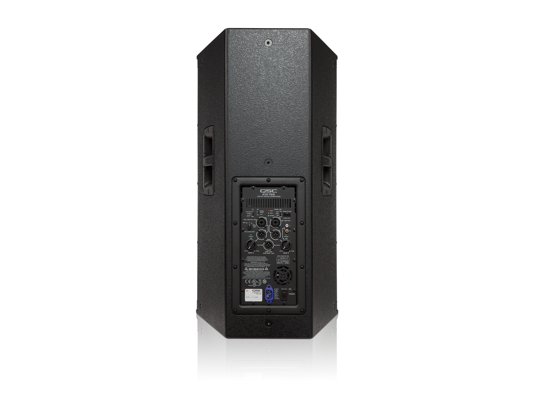 Kw152 Active Loudspeaker Qsc Protection And Muting