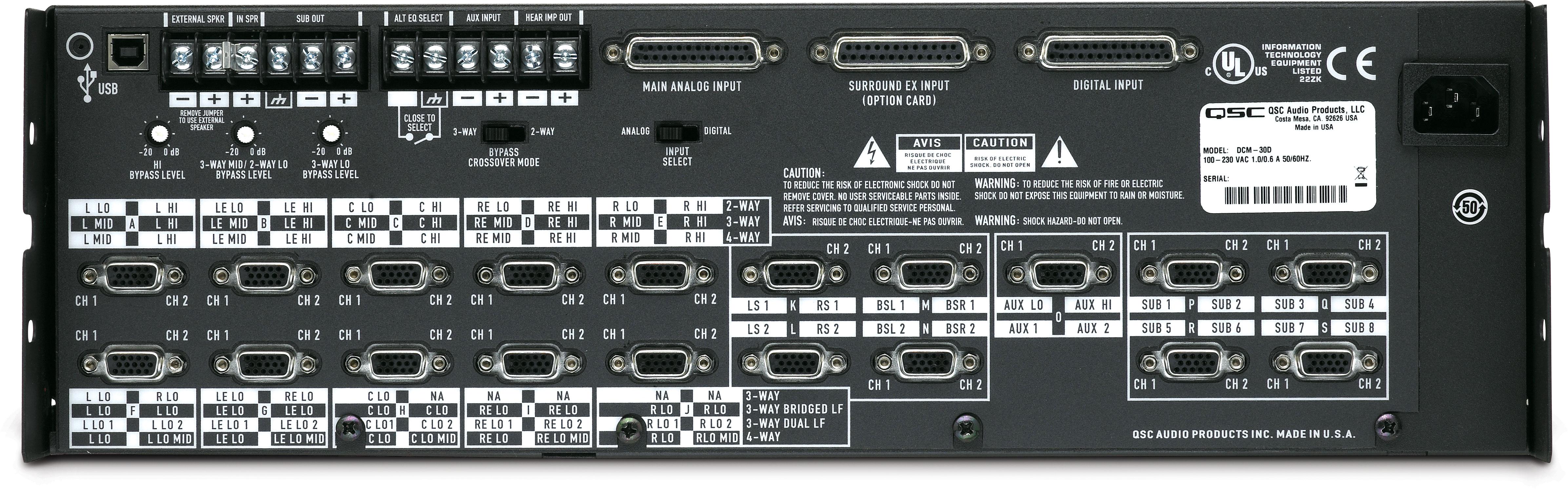 DCM 30D Digital Cinema Monitor ndash QSC