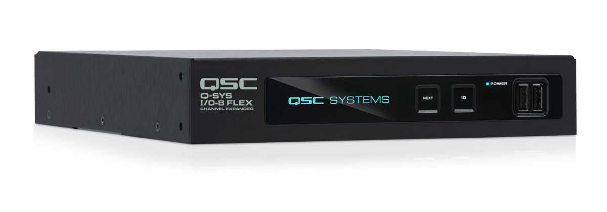 Front rIght image of the I/O-8 Flex