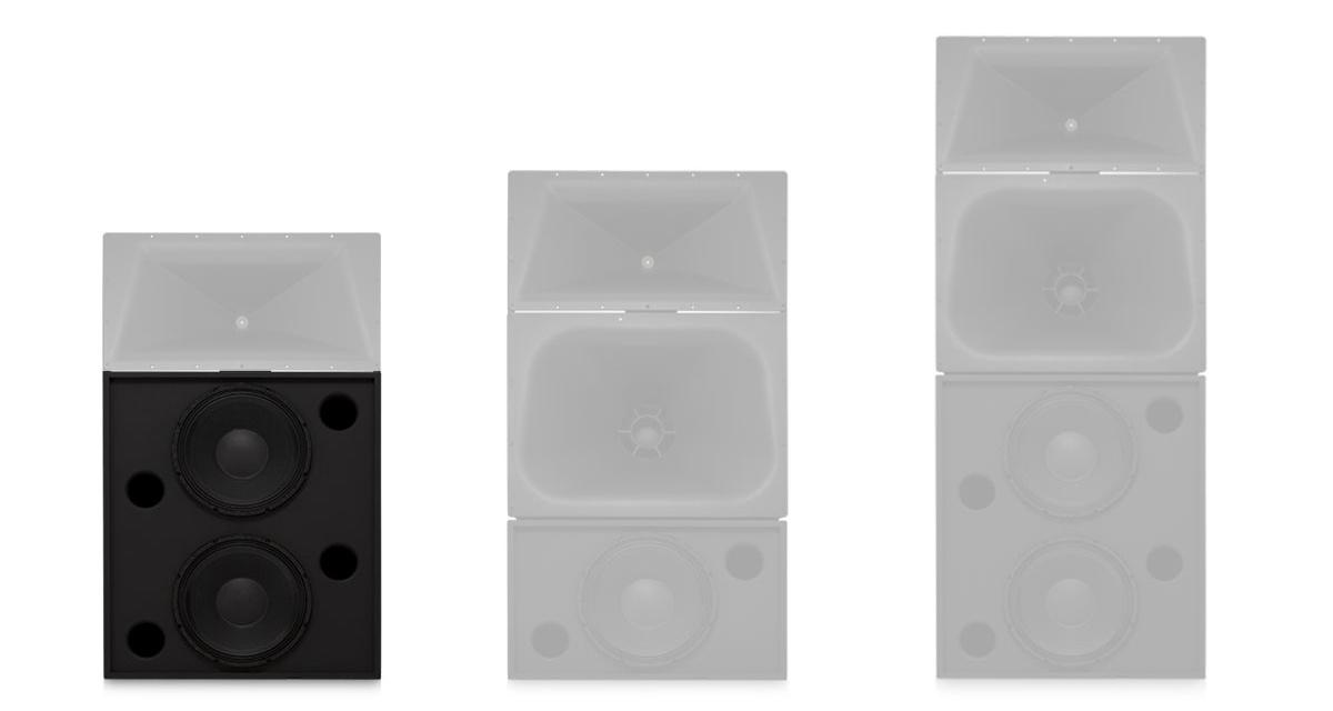 LF Components - Screen Channel Loudspeakers - Loudspeakers