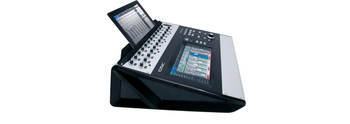qsc audio Basic Live Sound Setup tm support stand