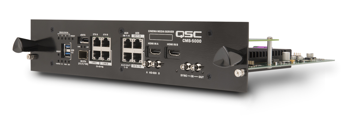 CMS-5000 - Media Servers & Test and Measurement - Products
