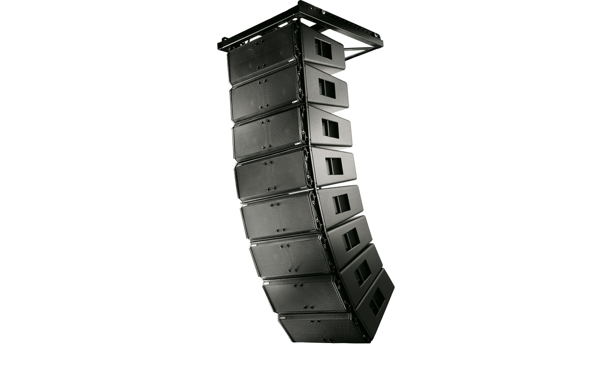 Wideline 10 Series Passive Line Array Loudspeakers Loudspeaker System Crossover Network Speaker Protection Circuit Products Live Sound Qsc