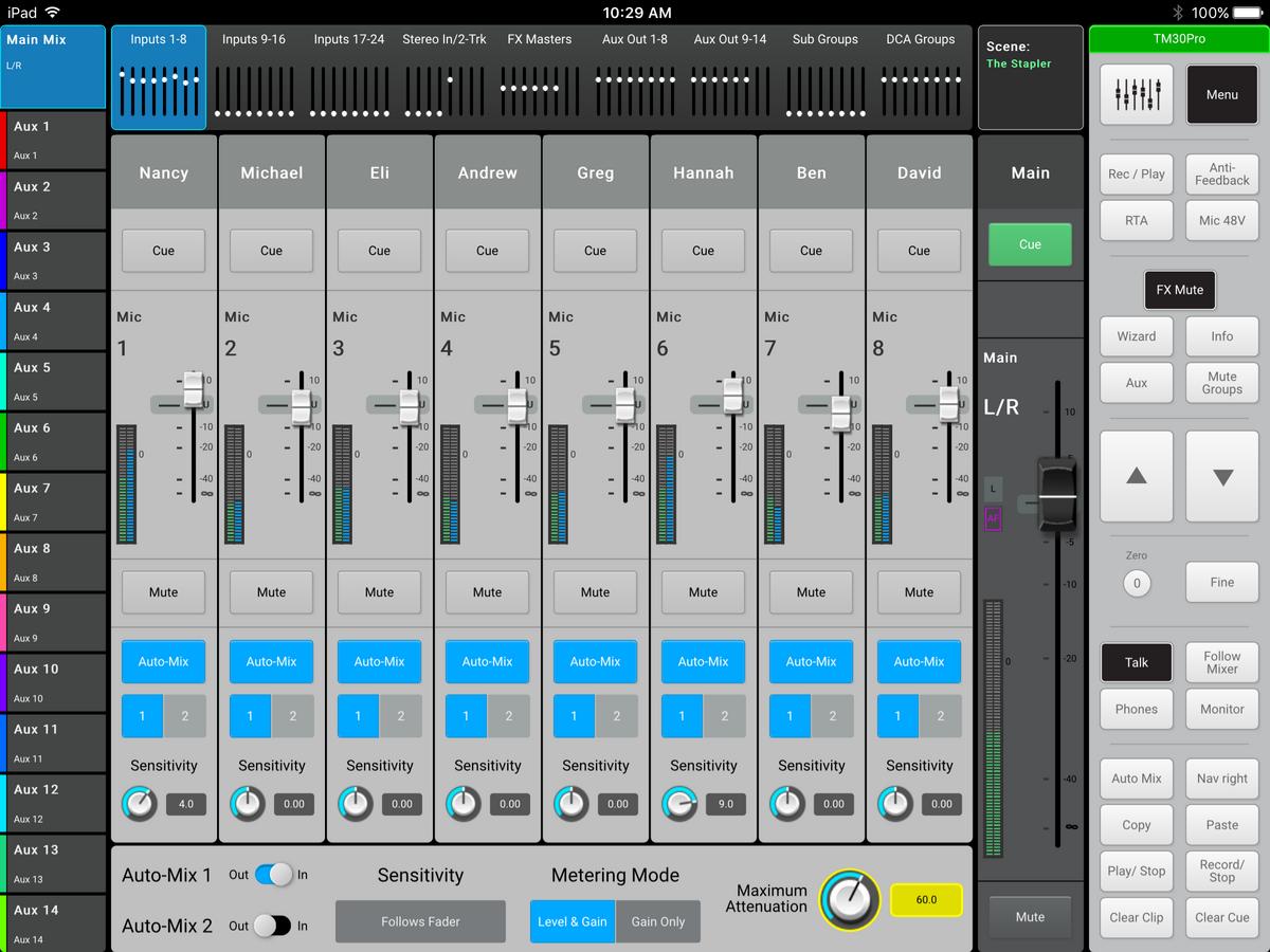 Csatlakoztassa az automatikus hangmérnököt